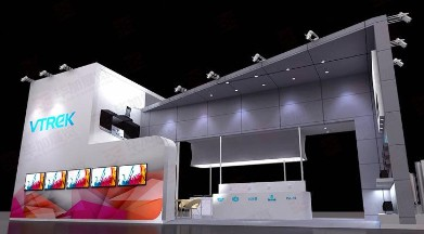 Profile booth