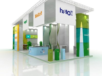 Hello!!  Foreign Exhibition Design