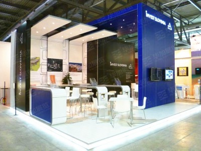 Invest Slovenia Foreign Exhibition Design