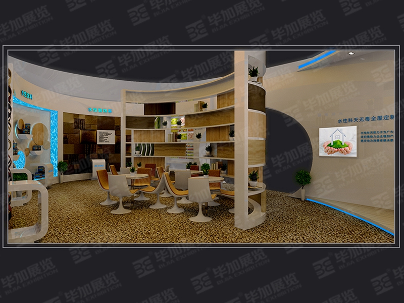 Exhibition Booth Materials : Scisky building materials exhibition design